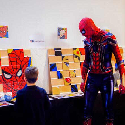 Construccio mosaics superherois 1